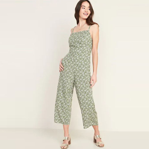 Cropped floral jumpsuit from Old Navy photo