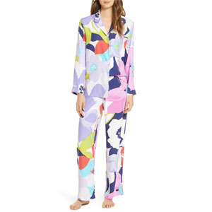 multi-color floral women's pajamas from Nordstrom photo