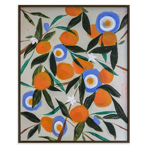 Painting of oranges from West Elm photo