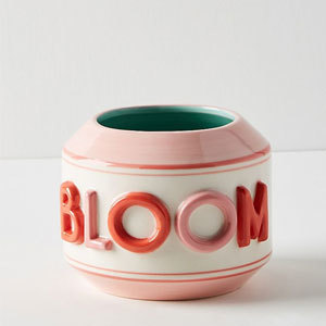Bloom ceramic planter from Anthropologie photo