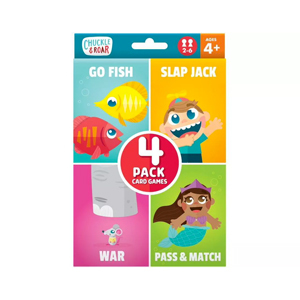Pack of card games from Target photo