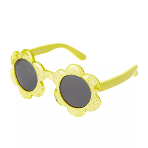 Yellow flower-shaped sunglasses from Carter's photo