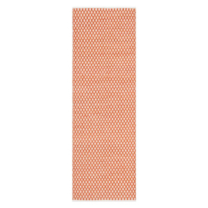 Orange colored runner style rug from The Home Depot photo
