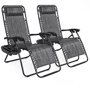 Reclining patio chairs from eBay photo