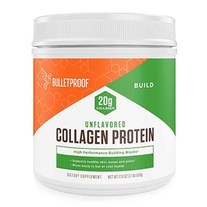 Unflavored collagen protein powder from Bulletproof photo