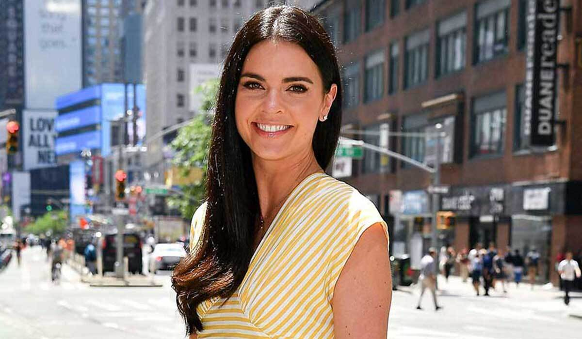 Katie Lee in Times Square photo