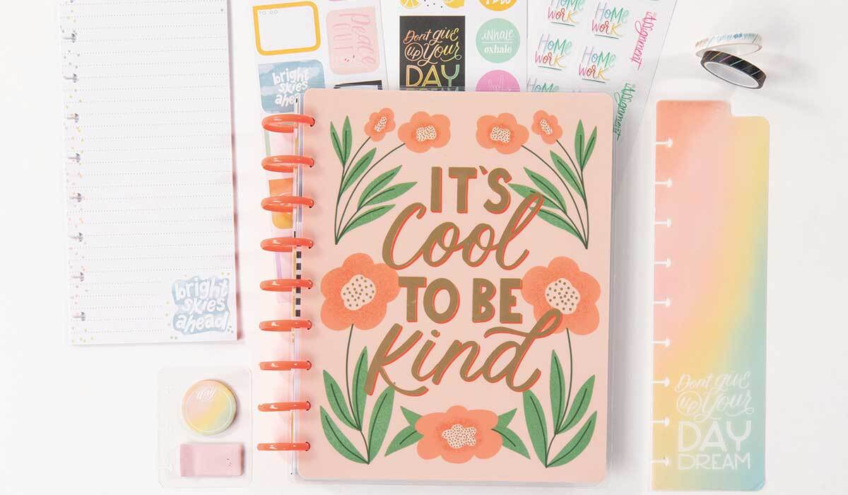 Student planner with accessories photo