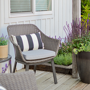 Outdoor chair from Walmart. photo