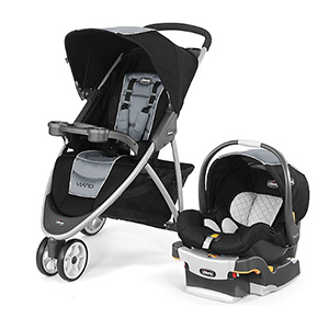 Chicco stroller and car seat from Buy Buy Baby photo