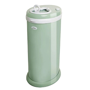 Light green Ubbi diaper pail from Buy Buy Baby photo