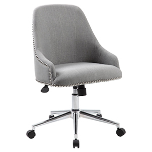 Gray office chair from Walmart photo
