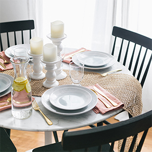 Table setting from Walmart. photo