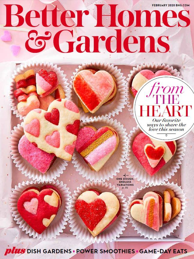 Cover of February 2020 Issue of Better Homes & Gardens Magazine photo