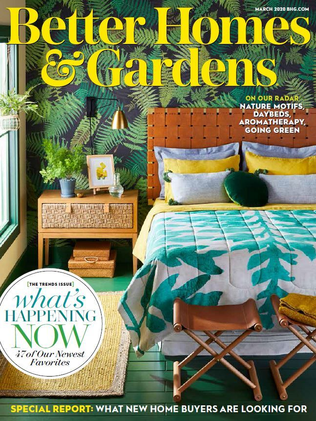 Cover of March 2020 Issue of Better Homes & Gardens Magazine photo
