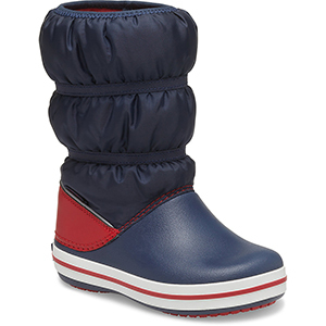 Blue and red kids' winter boot from Crocs photo