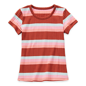 Striped Girl's T-Shirt From JC Penney photo
