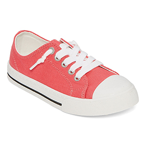 Salmon Colored Girl's Sneakers From JC Penney photo