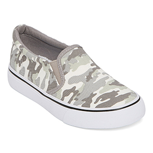 Camo Boys' Slip-On Shoes From JC Penney photo
