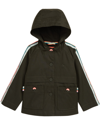 Girl's Joules Kids' Utility Jacket, Size 4Y - Green