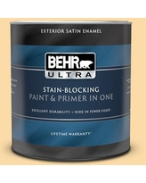 Spectacular Savings On Behr Ultra 1 Qt M290 3 Corn Stalk Extra Durable Satin Enamel Interior Paint Primer