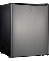 Whirlpool 2.7cu. ft. Mini Refrigerator Stainless Steel (BC-75A)