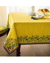 "Provence Tablecloth, Yellow, 70"" x 108"""