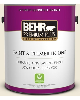 BEHR Premium Plus 1 gal. #T11-20 Lucky Potato Eggshell Enamel Low Odor Interior Paint and Primer in One