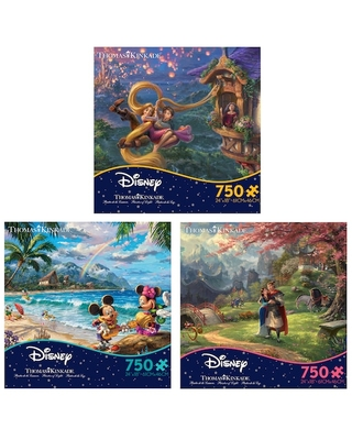 Assorted Disney Thomas Kinkade™ 750-Piece Jigsaw Puzzle By Ceaco | Michaels®