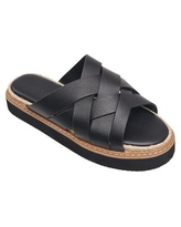 French Connection Women's Alexis Slip-On Espadrille Sandals - Black