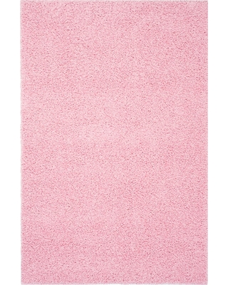 8'x10' Solid Loomed Area Rug Pink - Safavieh
