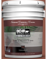BEHR Premium Plus Ultra 5 gal. #200F-6 Sequoia Grove Eggshell Enamel Interior Paint and Primer in One