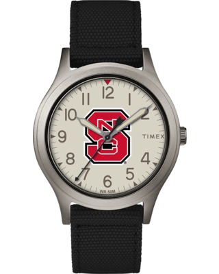 Timex Watch Women's Ringer Nc State Wolfpack Gray/black/other Item # Twzuncswayz