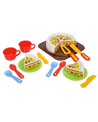 PlayGo Birthday Cake Set Pretend Play Toy Products