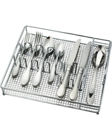Evanston Silverware Set 45-pc. Stainless Steel - Threshold