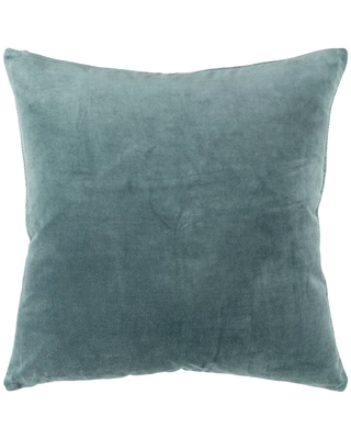 """22""""x22"""" Oversize Square Throw Pillow Cover Teal - Rizzy Home"""