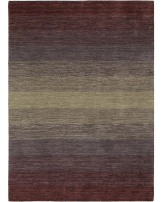 Kaleen Shades Purple 5 ft. x 8 ft. Area Rug