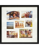 Thin Collage 7 Multi-Size Photo Frame Black - Made By Design