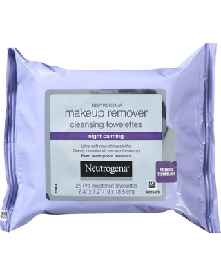 Neutrogena Makeup Remover Night Calming Cleansing Towelettes - 25ct