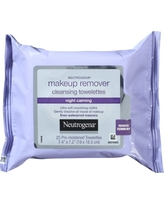 Neutrogena Makeup Remover Cleansing Towelettes & Wipes - Night Calming - 25ct