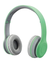 iLive Bluetooth Wireless Headphone with On-Ear Controls and Built-in Micrphone, IAHB38LTL, Light Teal