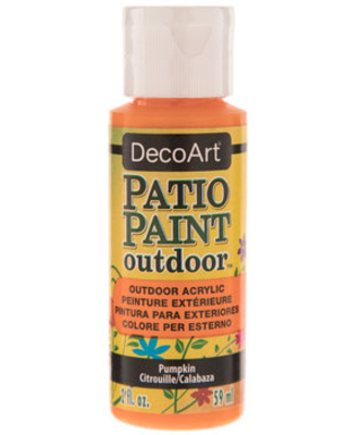 Huge Deal on Pumpkin Patio Paint