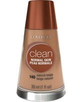 Covergirl Clean Foundation 140 Natural Beige 1Fl Oz