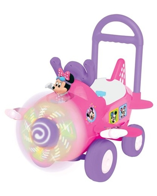 Disney Deluxe Minnie Mouse Plane Activity Ride-On with Lights and Sounds