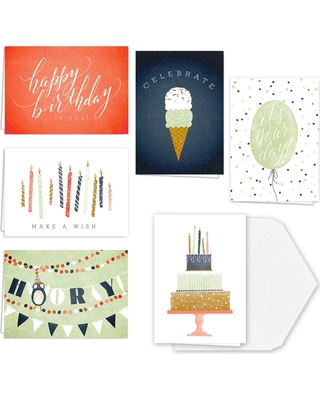 Check Out Some Sweet Savings On 36ct ItS Your Day Birthday Card