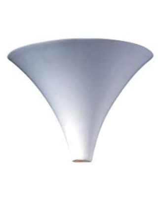 Justice Design Group Ambiance Collection 1-Light Wall Sconce - Bisque Finish