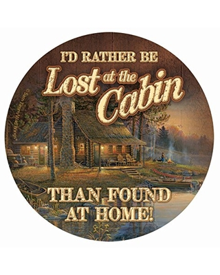 Thirstystone Drink Coaster Set, Lost at the Cabin
