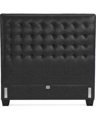 Fairfax Tall Headboard Only, Queen, Italian Distressed Leather, Wolf