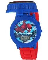 Marvel Analog-Quartz Watch with Plastic Strap, red, 18 (Model: SPD4498)