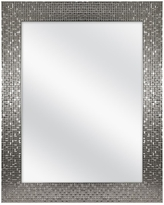 Home Decorators Collection 24 in. W x 30 in. H Fog Free Framed Recessed or Surface Mount Bathroom Medicine Cabinet in Brushed Nickel