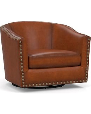 Pleasing Check Out These Major Deals On Harlow Leather Swivel Caraccident5 Cool Chair Designs And Ideas Caraccident5Info